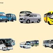 Услуги по перевозке грузов и пассажиров автобусами и микроавтобусами фото
