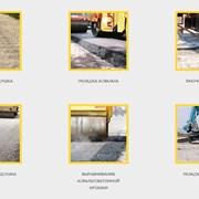 Укладка асфальта, асфальтирование и ремонт дорог. фото