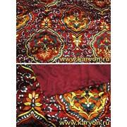 Ткань с узбекским рисунком плюш фото