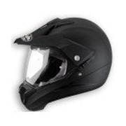 Airoh Кроссовый шлем со стеклом S5 blk mat фото