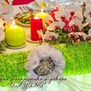 Свадебное оформление,флористика,декор,выездные церемонии росписи фото