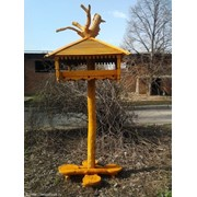 Креативная кормушка для птиц фото