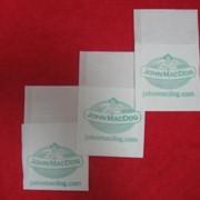 Салфетки бумажные, салфетки диспенсерные с индивидуальным логотипом, белые, однослойные, 250 листов фото