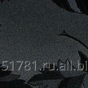 Плита МДФ AGT глянец черные цветы, 1220х18х2795 мм фото