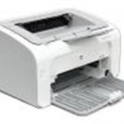 Принтер Hewlett-Packard LaserJet P1102, Лазерный Чёрно–белая печать фото