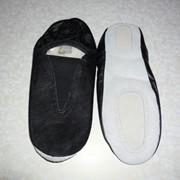 Чешки черные кожа фото