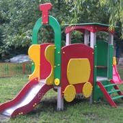 Детский игровой комплекс Веселый паровозик фото