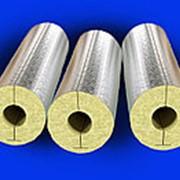 Базальтовые цилиндры для труб Изошелл Цф (плотность 90, толщина 50мм) фото