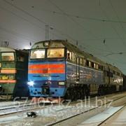 Железнодорожные перевозки груза по территории Китая фото