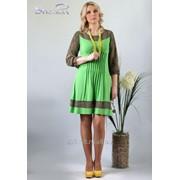 Платье 1646-1 Зеленый цвет фото