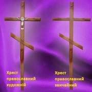Крест православный художественный, обычный фото