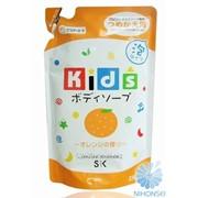 Детское пенное мыло SK Kids для тела с ароматом апельсина 250мл (мягкая экономичная упаковка) 4964495501106 фото
