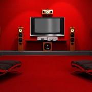 Установка домашних кинотеатров фото