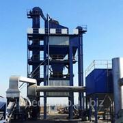 Стационарный асфальтобетонный завод АБЗ С100, производительностью 100 тонн/час фото