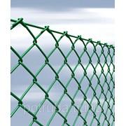 Сетка рабица с полимерным покрытием 60x60x3 фото