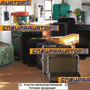 Радиаторы для спецтехники; ремонт, изготовление новых по образцу фото