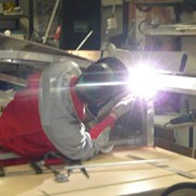 Производство сварных алюминиевых конструкций фото