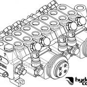 Гидрораспределитель 7 секционный HYDROCONTROL (Италия) HC-D3M/7 фото
