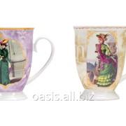 Набор Дамы высшего общества : две кружки и чайное ситечко фото