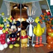 Оформление детских праздников фото