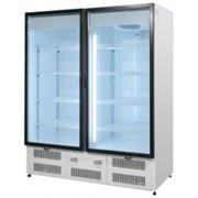 Шкаф холодильный R 1400 VS , стеклянные двери фото