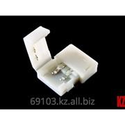 Клипса коннектор для одноцветной светодиодной ленты SMD 5050 фото