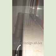 Мраморный подоконник. Материал: Крема Нова фото