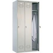 Шкаф для раздевалок - ПРАКТИК LS-31 фото
