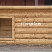 Будка Собачья №27 (1.2-0.8-0.8 м) Утеплённая фото