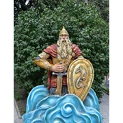 Скульптура Царь Морской фото