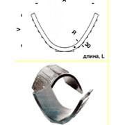Желоба из плавленого базальта овального профиля для коллекторов, каналов ГЗУ. фото