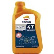 Синтетическое масло Repsol Moto Sintetico 4T 10W40 1L фото