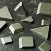 Пластина напаиваемая твердосплавная ГОСТ 25395-90 и ГОСТ 25397-90 фото