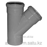 Тройник кан. 45° серый 75-50 Jakko фото