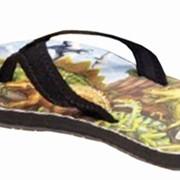 Обувь пляжная Динозавры
