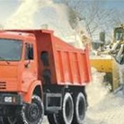 Уборка, погрузка и вывоз снега фото