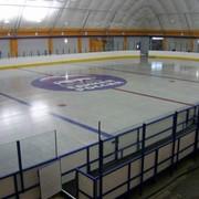 Хоккейный борт, хоккейный корт фото