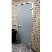 Двери стеклянные на заказ фото