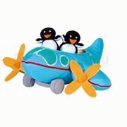Музыкальная игрушка-самолет с пингвинами арт. 330701 фото