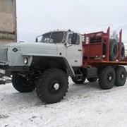 Продам Лесовоз Урал 43204 с площадкой фото
