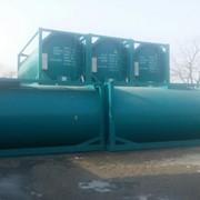 Танк-контейнер для ГСМ бензин, дизель фото