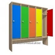 Шкафчики для раздевалок в детский сад фото