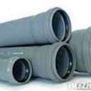 Труба канализационная 110/2000/2,2/PVC-U внутренняя серая 52000 фото