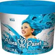 Термостойкая, акриловая эмаль для любых поверхностей Alina Paint EMALIKA 1 кг фото