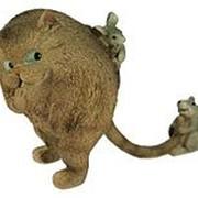 """Фигурка декоративная """"Кот и мышка"""" 17*7*13см. 22761 фото"""