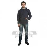 Куртка Бригада, тк.Футер, цв. т.-серый фото