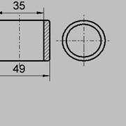 Изолятор 3325 (А) (Изоляторы для электротранспорта и подъемнокрановых механизмов) фото