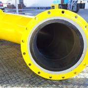 Футерованные износостойкие и кислотоупорные трубы для пневматической и гидравлической транспортировки фото