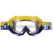 Ariete Маска кроссовая COLORS синяя/желтая фото