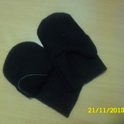 Рукавицы суконные 754 г/м2 шинель (черные) фото